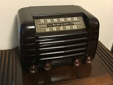 Fully restored antique Emerson 515 Table top tube radio plays GreaT