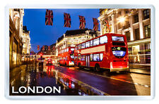 LONDON ENGLAND MOD8 FRIDGE MAGNET SOUVENIR IMAN NEVERA