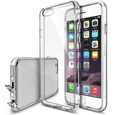 Clear Premium Crystal Bumper Case with Back Case for IPhone 6s plus Cases D A