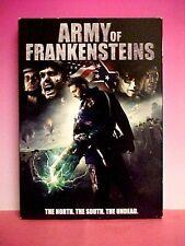 ARMY OF FRANKENSTEINS DVD 2014 Belgardt Terrell Ferguson Horror