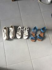 Lot Sandales Kookai & basket Converse All star filles pointure 28/29