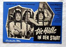 Filmprogramm - DIE HÖLLE IN DER STADT