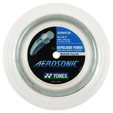 Yonex Aerosonic BG AS - 0.61mm - Badminton  Racket String - 200m - White