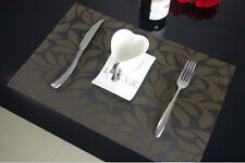 Sales Kitchen Table Mats Insulation Bowl Leaves Placemats Dining Pad Western