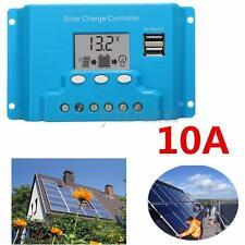 10A LCD Solare Pannello Batteria Regolatore di Carica Controllore 12V/24V PWM