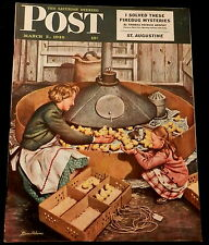 The Saturday Evening Post  March 5 1949 COCA-COLA WESTINGHOUSE COOLER - FIREBUG