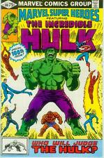 Marvel Super-Heroes # 100 (reprints Incredible Hulk # 151+152, 52pgs) (USA,1981)