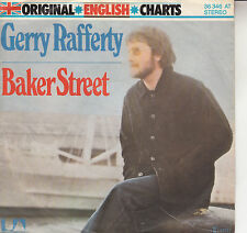 "GERRY RAFFERTY Baker Street PICTURE SLEEVE 7"" 45 record + juke box title strip"