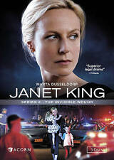 Janet King, Series 2: The Invisible Wound New DVD! Ships Fast!
