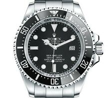 Rolex Deep Sea Sea Dweller stainless steel black dial 11666 automatic box papers