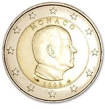 Monaco 2 euro 2009 Unc-Prins albert. Zo uit de rol!