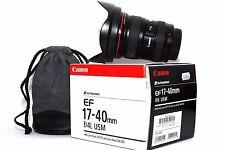 Canon EF 17-40mm f/4 L USM Weitwinkel Tele Objektiv für EOS Digitalkameras......