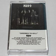 KISS Cassette Tape Dressed To Kill 1975 Hard Rock Glam Metal 824 148-4 M-1