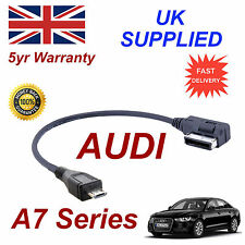 Genuine AUDI A7 Series AMI MMI 4F0051510M MP3 PHONE MICRO USB Cable replacement