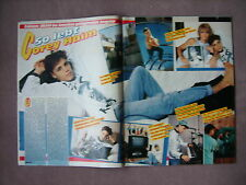 Bravo Clipping Cory Haim (1989) 80er (Lost Boys; Daddy's Cadillac) So lebt er