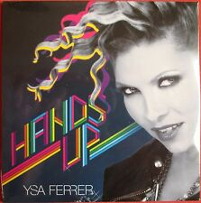 "YSA FERRER - CD SINGLE PROMO ""HANDS UP"" - ""CARDSLEEVE"" - 9 TITRES - NEUF - NEW"