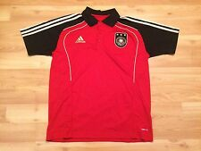 2010 GERMANY SOCCER POLO SHIRT JERSEY MENS SZ 110 XL ADIDAS DEUTSCHLAND FUTBOL
