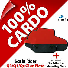 New Cardo Scala Rider Replacement Glue Plate Q3 Q1 QZ Motorcycle Helmet Intercom