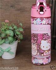 Hello Kitty Tea Leaf Infuser Plastic Cover Lock Travel Water Bottle 600ml KK750