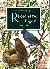 READER'S DIGEST 1962 APRIL FOSDICK;EYE CARE;CUBA;KINGKONG;MINK;VIETNAM !