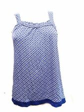 NWT Dkny Top Pajama Set One Piece  Blue  X-Small