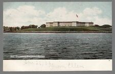 [54716] OLD POSTCARD FORT TRUMBELL IN NEW LONDON, CONNECTICUT (UNDIVIDED BACK)
