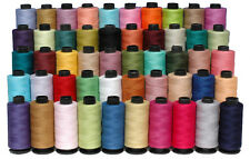 100% Pure Cotton Sewing Thread 50 Spools 500 Yards Each