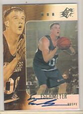 Sharp 1999 Upper Deck SPX Evan Eschmeyer Autograph Rookie Card 1445/2500 Made