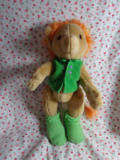 "Ikea Sweden SAGOLEK Plush Troll Doll Fully jointed RARE 12"" Tall Stuffed Animal"