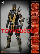 "WORLDBOX MORTAL KOMBAT SCORPION 12"" INCH 1/6TH SCALE ACTION FIGURE SUB-ZERO NEW"