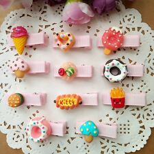 11pcs/lot cute sweetmeats Hair Clips Girls Baby toddler child  Hairpins Barrette