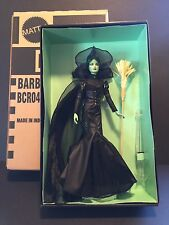 Barbie Fantasy Glamour Wizard Of Oz Wicked Witch Of The West Gold Label NFRB