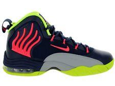 Nike Sonic Flight SZ 12 MIDNIGHT NAVY BLUE GREY PUNCH GARY PAYTON 641333-401