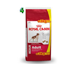 ROYAL CANIN MEDIUM ADULT 18 kg (15 kg + 3  kg) Alimento Per Cani Adulti Media