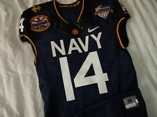 Thompson 2013 Navy vs Army Naval Academy Midshipmen Nike Authentic Game Jersey