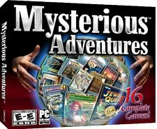 Mysterious Adventures 16 PC Games Windows 10 8 7 XP hidden object seek and find