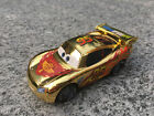 Mattel Disney Pixar Cars 1:55 Golden Metallic Lightning McQueen Metal New Loose