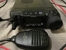Yaesu FT 857D HF/VHF/UHF CW/SSB/AM/FM/digital Mobile Radio Transceiver