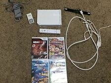 WII LOT WITH 4 GAMES AND EXTRA GOODIES!!!