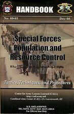 Special Forces Population and Resource Control Handbook