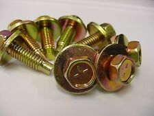 8x Cadillac Olds Bench & Bucket Seat Hex Head Bolts 5/16''-18 x 1-1/16'' NOS