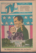 Democrat & Chronicle TV Tab September 7 1968 The Making of the President Nixon
