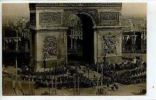 CP 75 PARIS - Souvenir des Fêtes de la Victoire - 14 juillet 1919 - Le Défilé