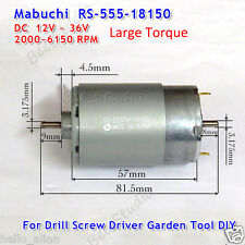 Mabuchi RS-555PH DC12V-36V 24V Drill&Screwdriver Garden Electric Tools Motor