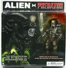 "Neca alien vs predator deux 8"" action figures pack"