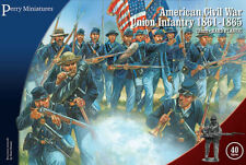 AMERICAN CIVIL WAR UNION INFANTRY 1861-65 - PERRY MINIATURES - 28MM - ACW 115