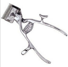 Vintage Haircut Manual Hand Hair Clipper Trimmer No Electric Need New