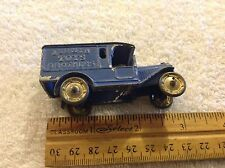 Vintage and Rare Tootsie Jermyn Brothers Toys Truck Based Off Store Scranton PA