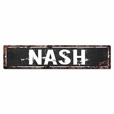 SLND0601 NASH Street Chic Sign Home man cave Decor Gift Ideas