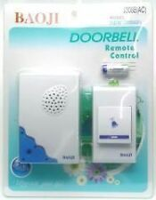 BAOJI CORDLESS/WIRELESS/CALLING  REMOTE DOOR BELL FOR HOME/SHOP/OFFICE